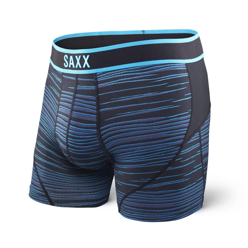Saxx Kinetic Boxer Blue Velocity