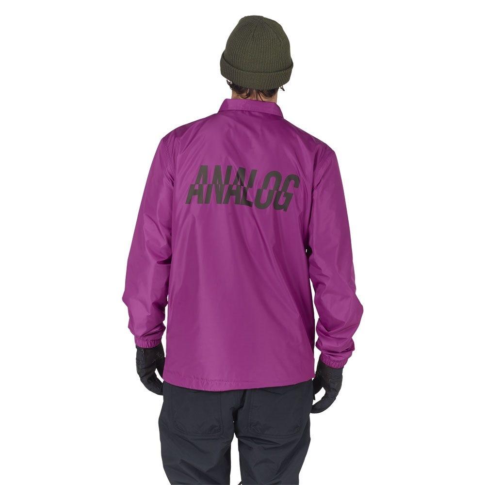 Analog Campton Coaches Jacket Grapeseed 2018