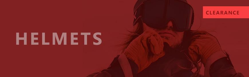 Clearance | Helmets | Protection - Snowtrax