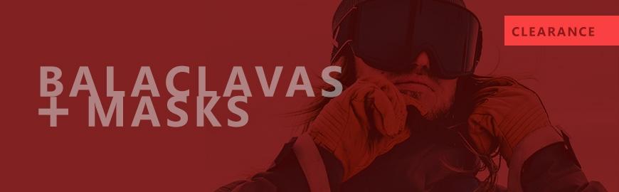 Balaclavas & Masks | Clearance | Sale - Snowtrax