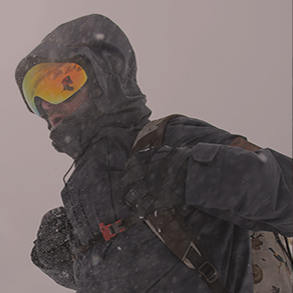 Snowboard Banner Small