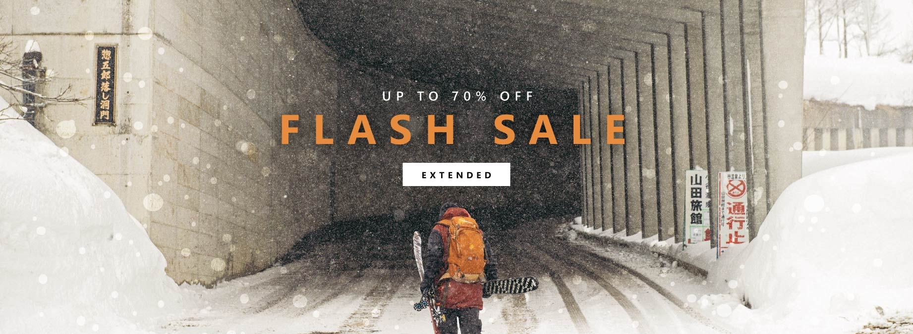 Flash Sale EXTENDED