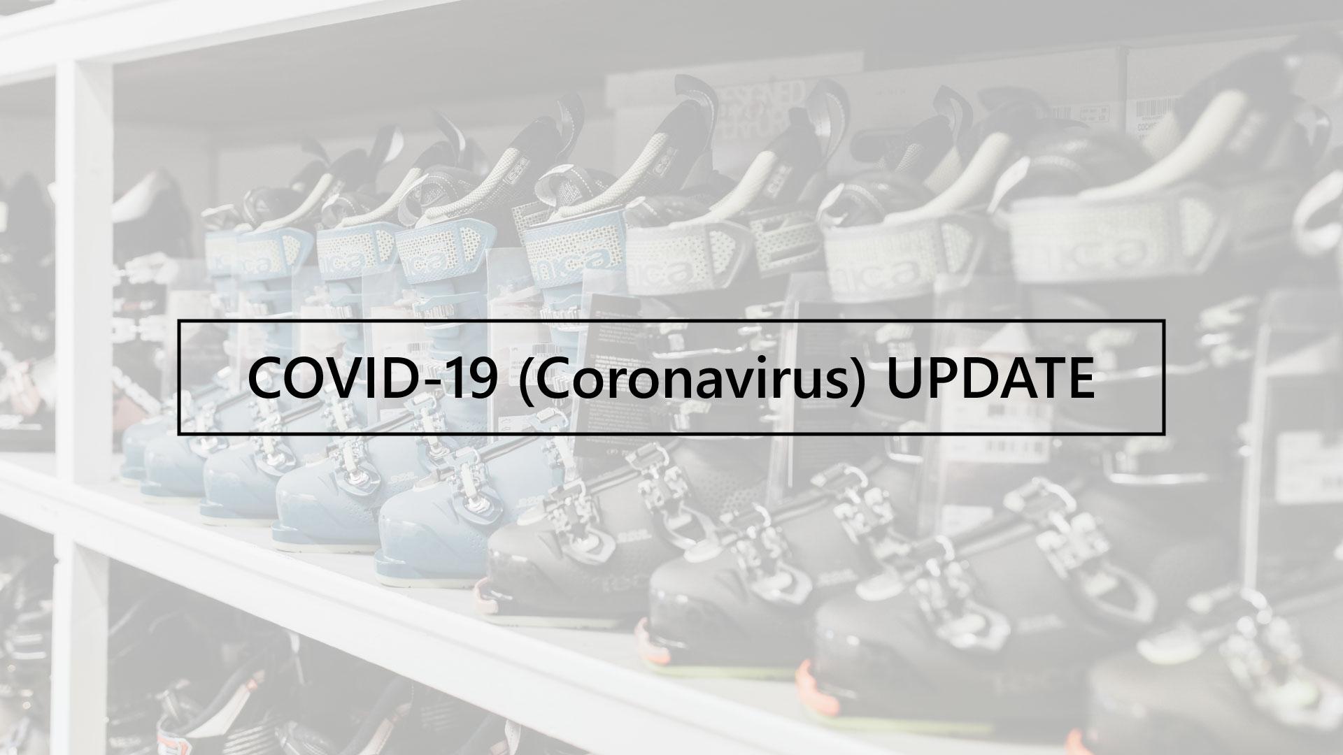 Snowtrax COVID-19 Coronavirus Update