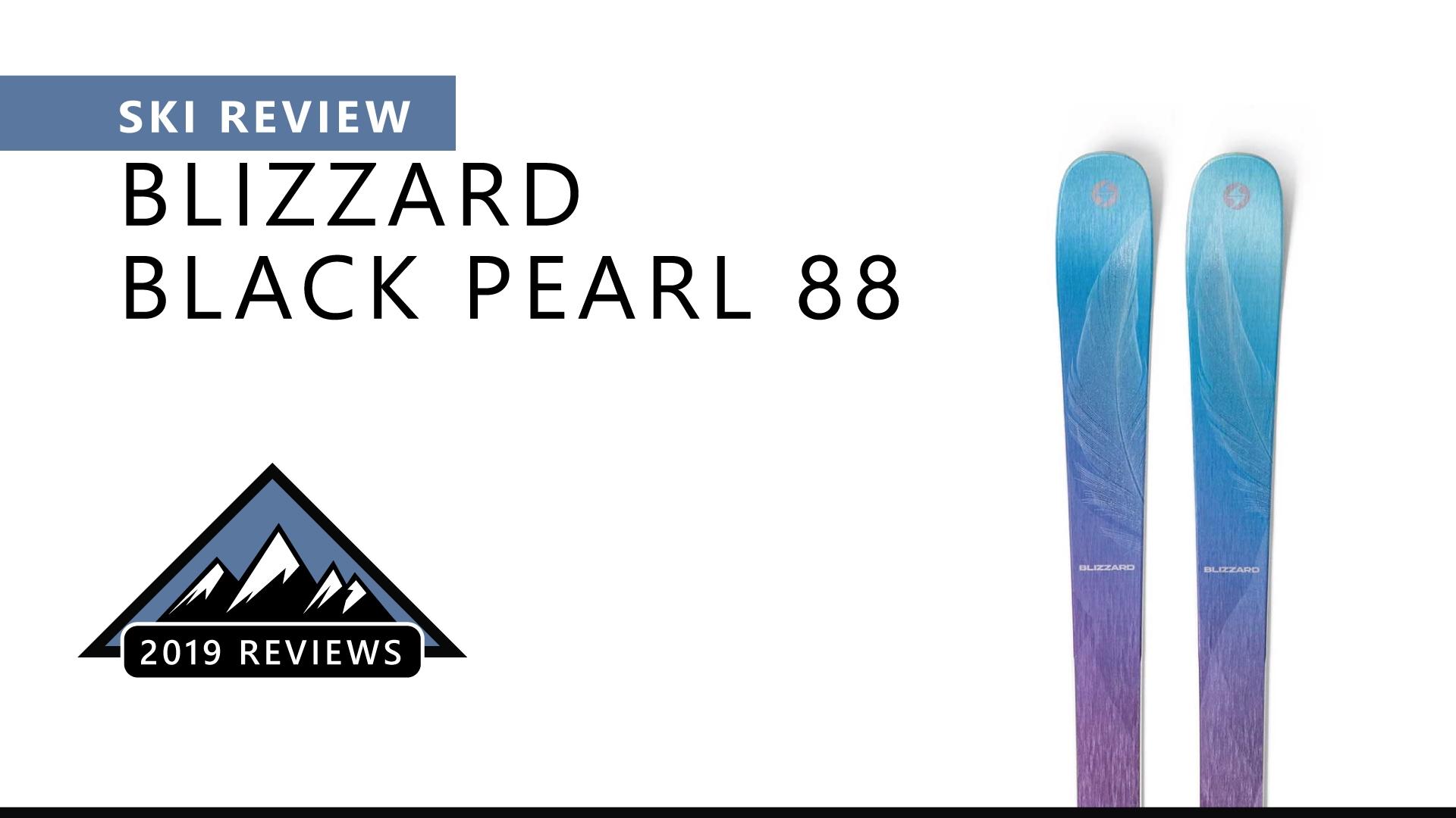 Ski Review | 2019 Blizzard Black Pearl