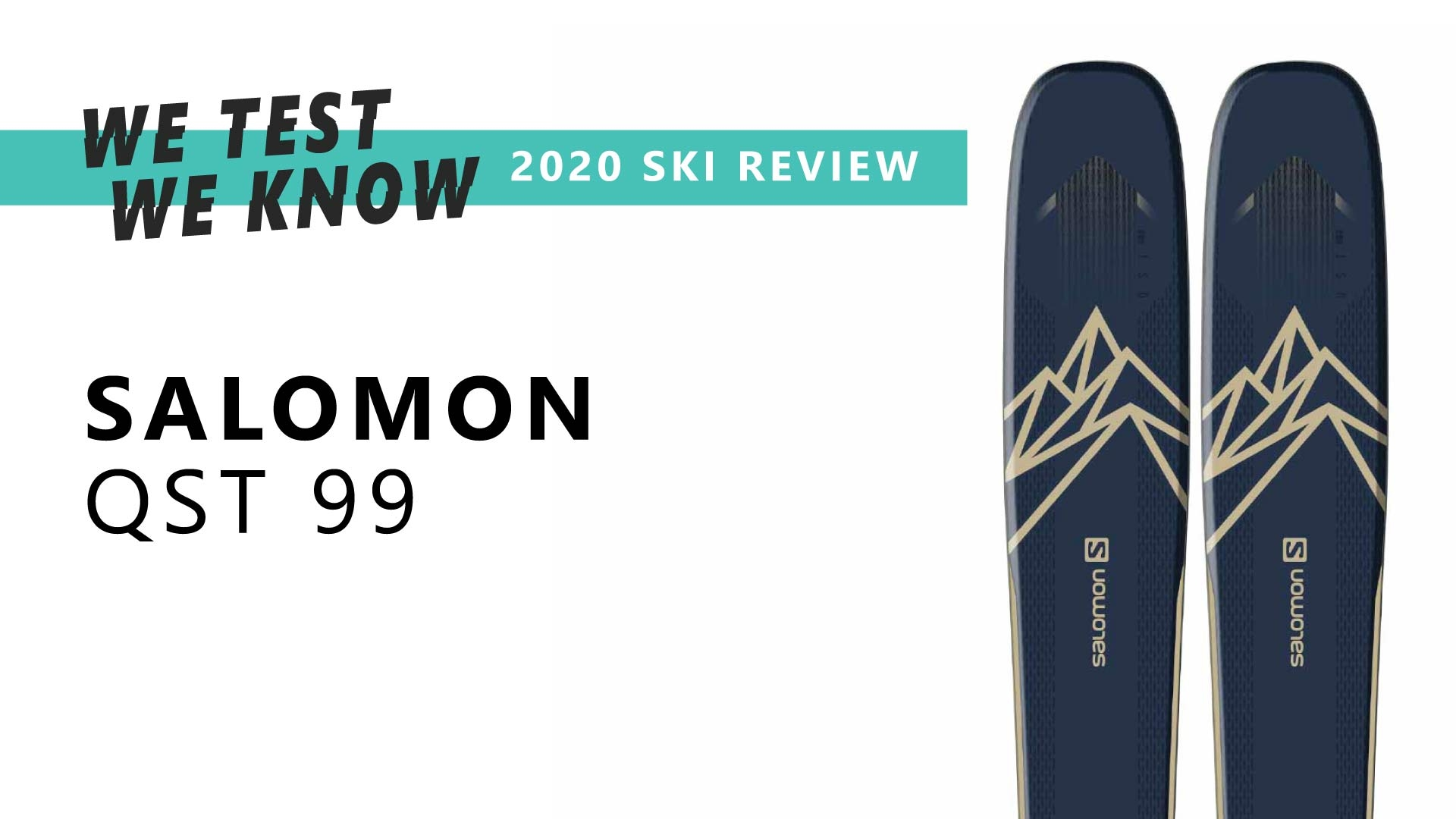 Salomon QST 99 - 2020 Ski Review