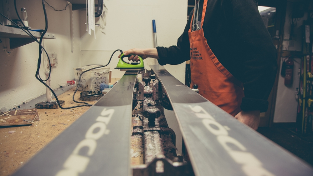 Ski & Snowboard Servicing | The Workshop At Snowtrax